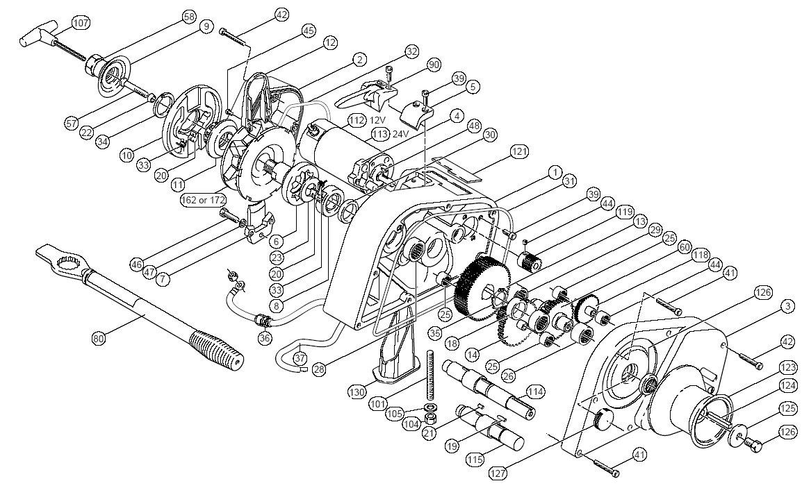 Simpson Lawrence Horizon 1500 Parts