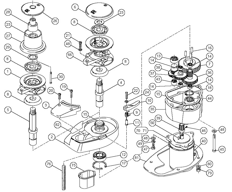Simpson Lawrence Sprint 3000 Parts