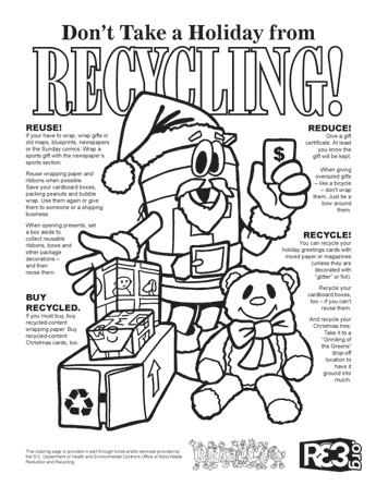 Holiday Crafts with the Recycle Guys!