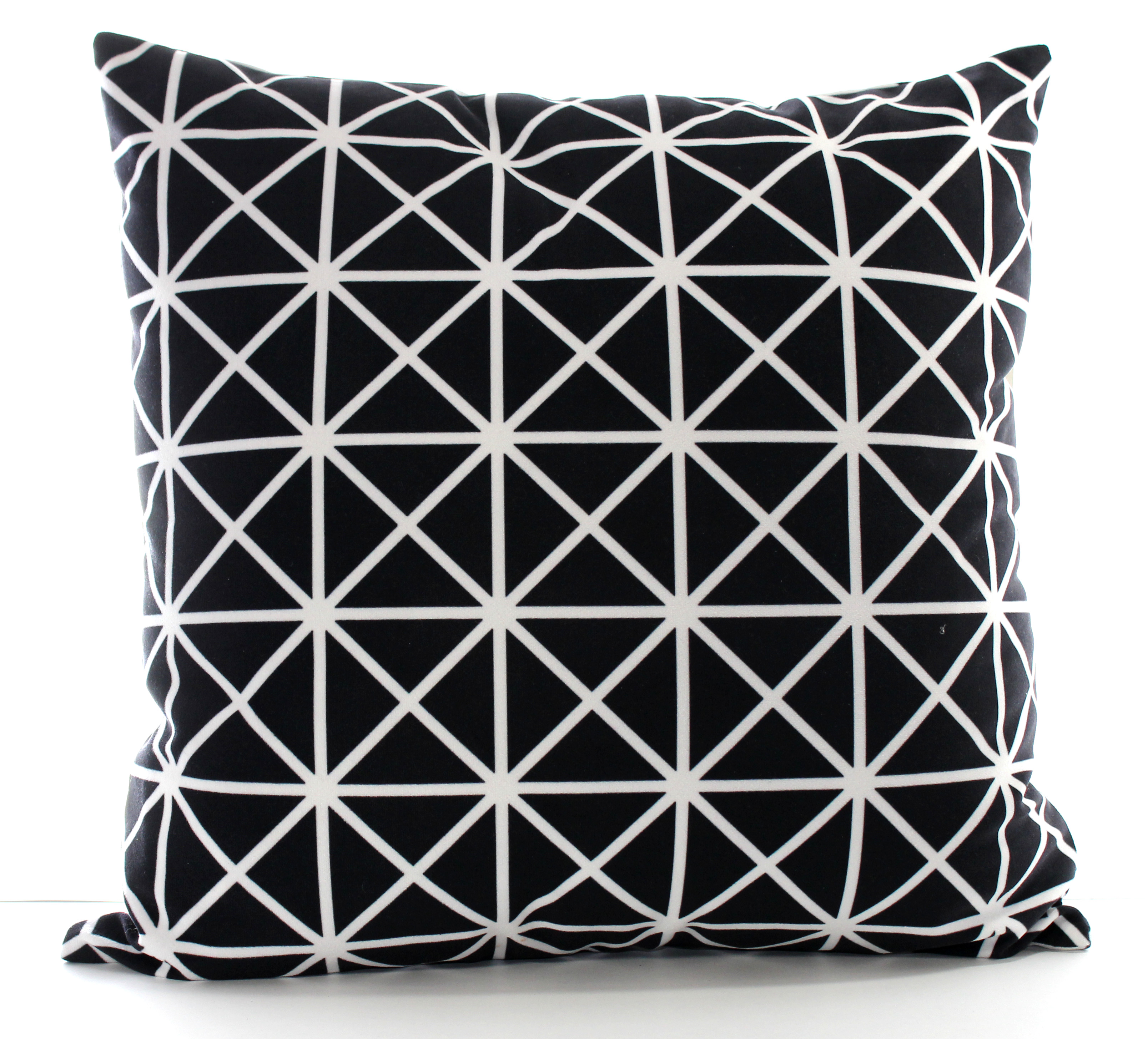 Pure Black and White Cushion Cover Set of 2  P31 maison