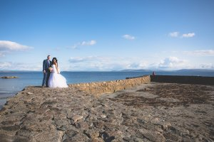 beach wedding photos ireland