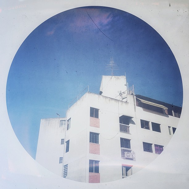 El edificio de frente