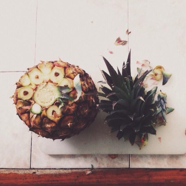 Jugo de #Piña #Ananá #Pineapple