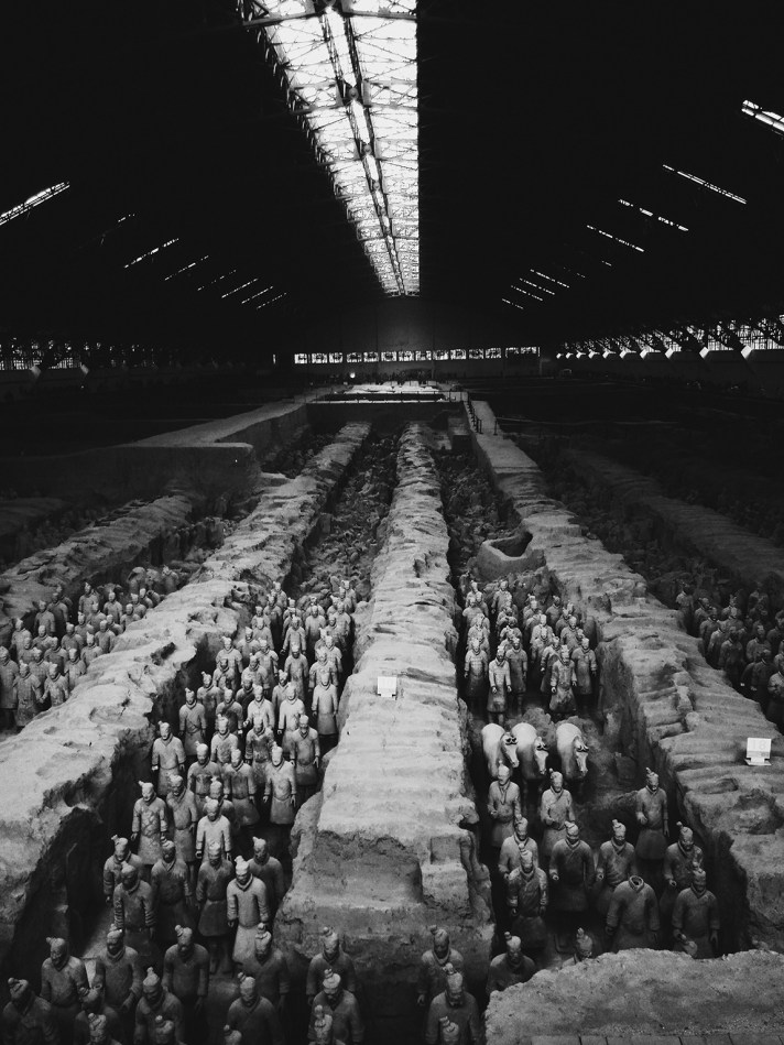 Terracotta Warriors 兵马俑
