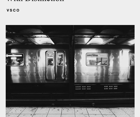 VSCO Subway