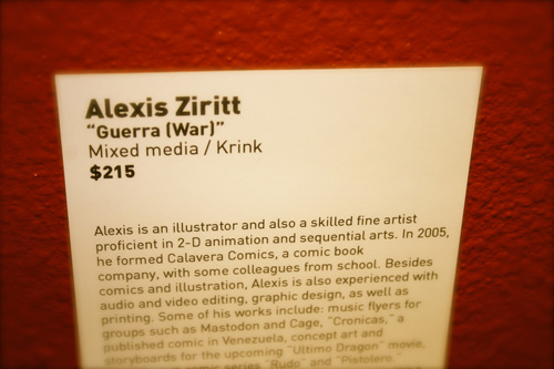 Alexis Ziritt in The 2nd Coming Art Show