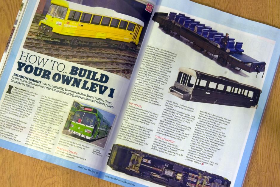 model rail LEV