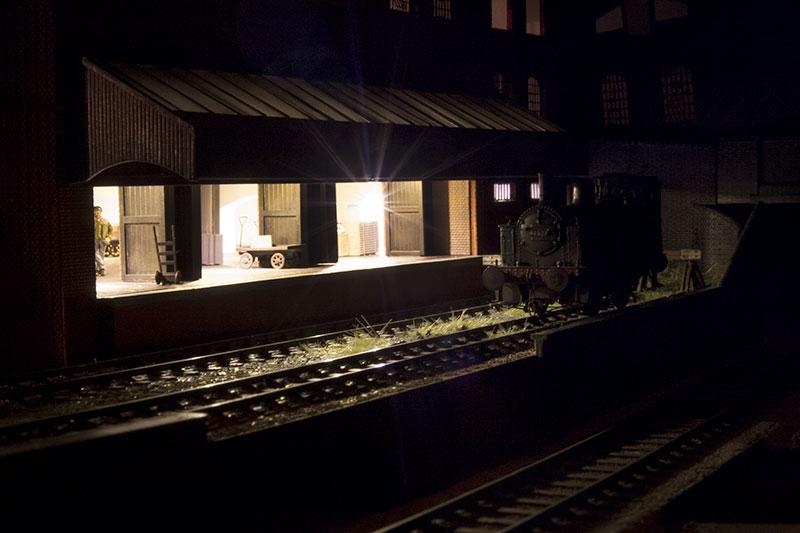 warehouse-at-night