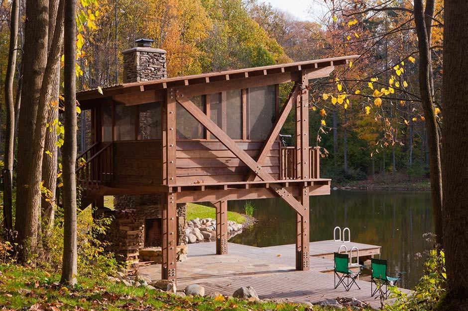 Pond Pavilion  Peninsula Architects