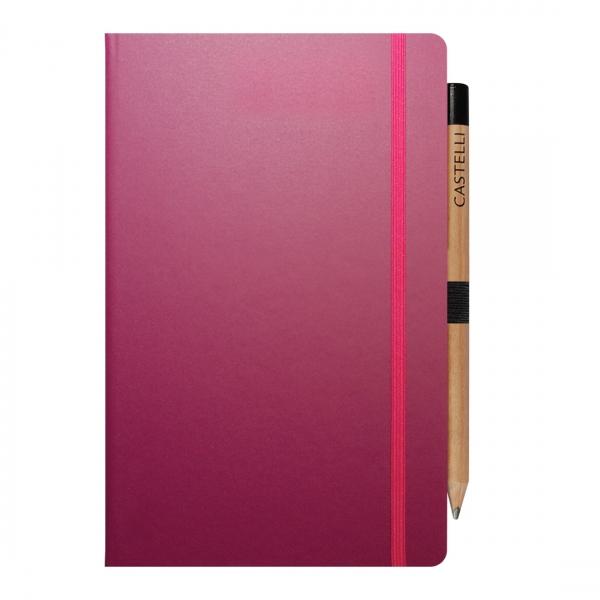 Promotional Castelli Medium A5 Notebook  PA Promotions