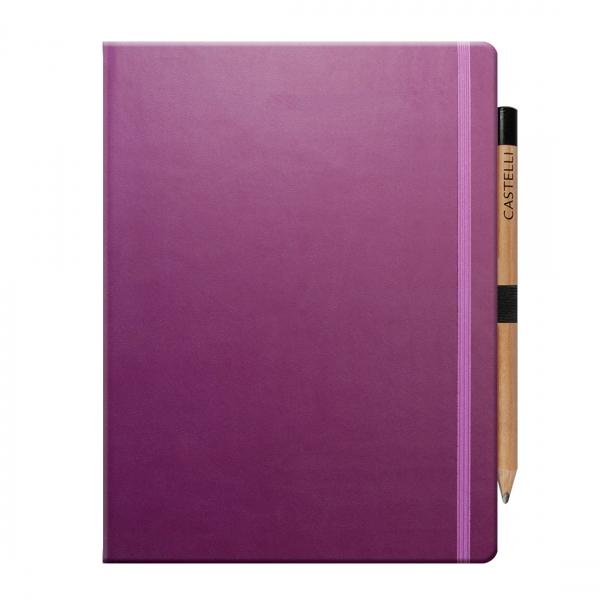 Promotional Large Castelli Notebook  PA Promotions