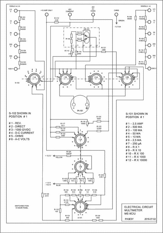 MULTIMETER TS-352 with ME9-C/U