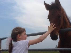 Paardrijles voor kinderen