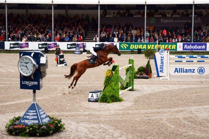 Lucy Davis wint Longines Grand Prix Port of Rotterdam
