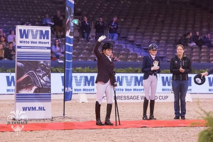 Sanne Voets wint KNHS-Witte Van Moort Para Dressuur Trophy Jumping Amsterdam