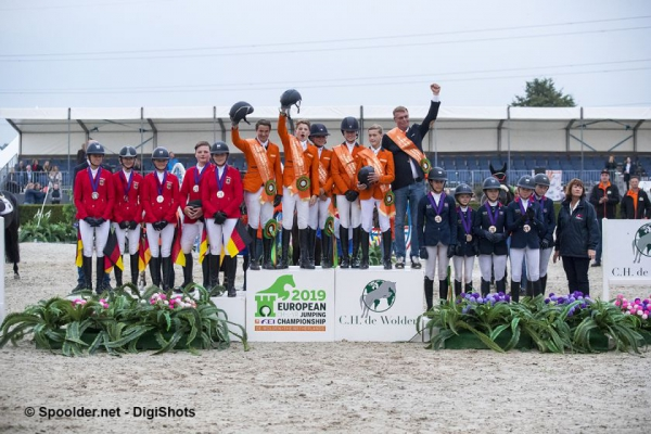Goud voor Nederlands Children team
