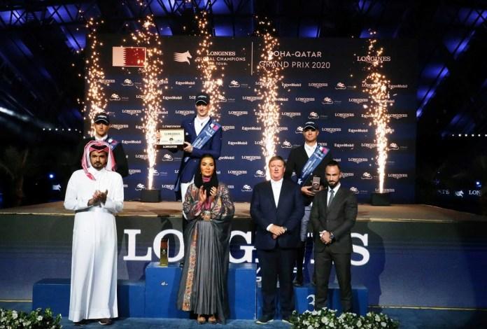 Daniel Deusser winnaar LGCT Doha