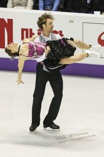 Nathalie PECHALAT , Fabian BOURZAT (FRA)