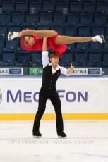 2 Anastasia MARTYUSHEVA , Alexey ROGONOV RUS FD ONT 2013