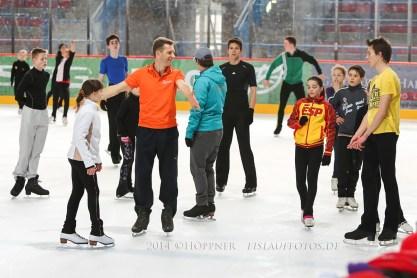 Training mit Igor Tchiniaev