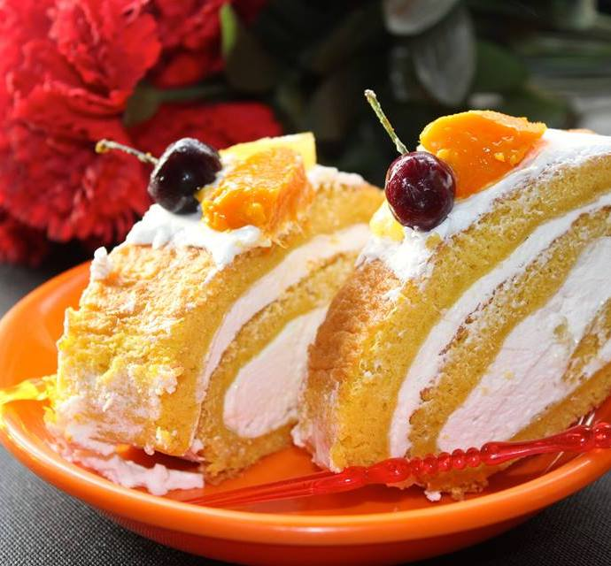 Mango Magic Contest Recipe – Mango Swiss Roll with Pineapple Cream Filling
