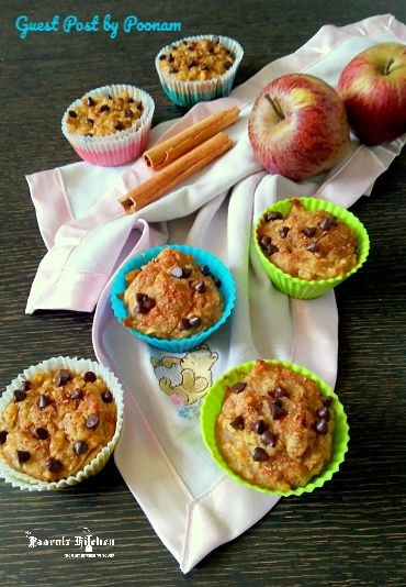 Apple Cinnamon Oats Muffins I Guest Post – Poonam Bachhav
