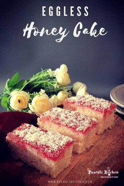 Eggless Honey Cake / Iyengar Bakery Style Honey Cake