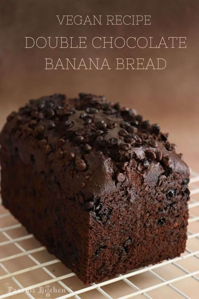 Read more about the article Vegan Double Chocolate Banana Bread