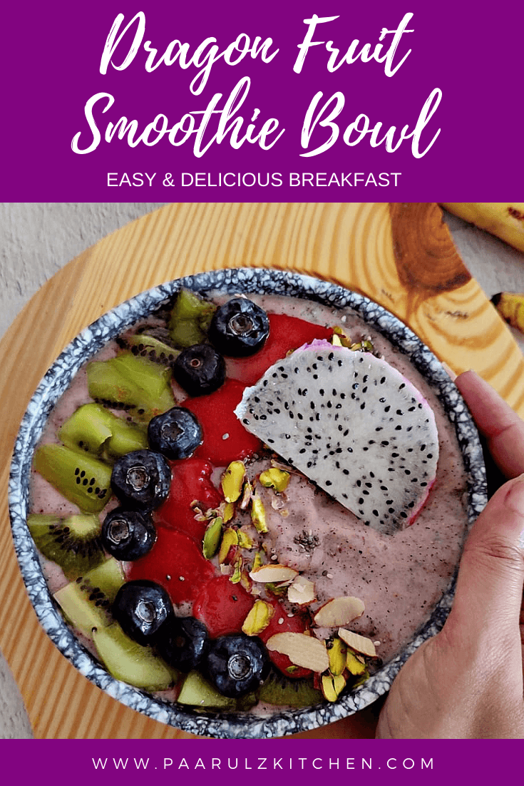 Read more about the article Dragon Fruit Smoothie Bowl | Easy & Delicious Breakfast