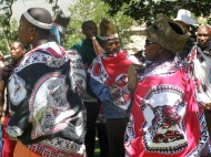 Opening Paballong HIV/AIDS Center Lesotho