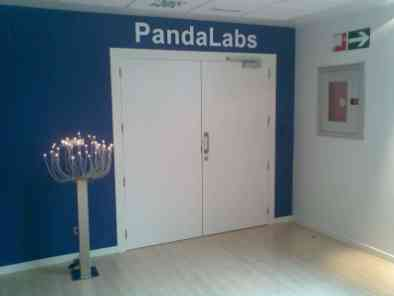 Entrada a los laboratorios de Panda Security