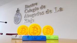 monedas Bitcoin impresora 3D