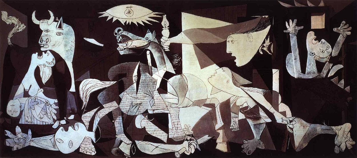 Picasso's painting, Guernica
