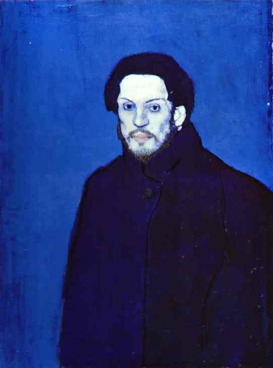 Self Portrait, 1901 by Pablo Picasso