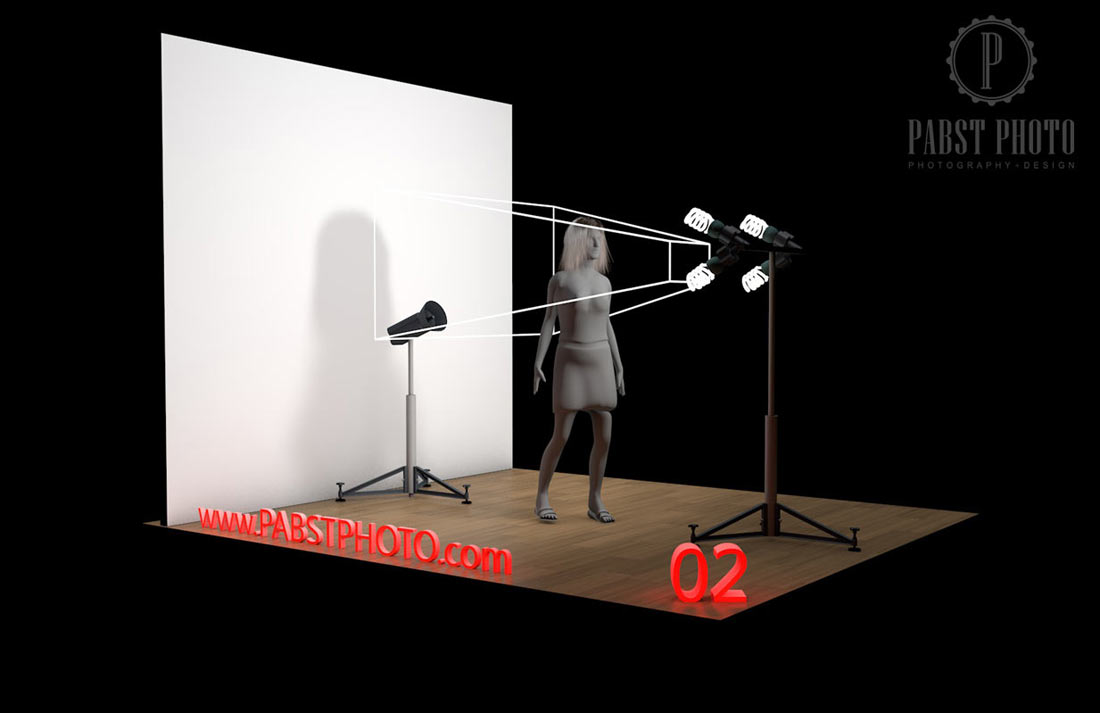 Continuous Studio Lighting Setup