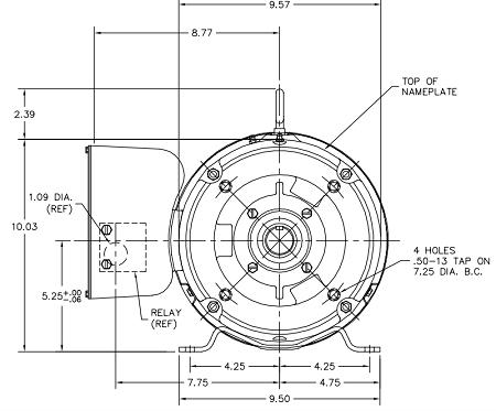 single phase motors wiring diagrams vw golf mk4 parts diagram 10 hp motor - frame: 215tc (single-phase)