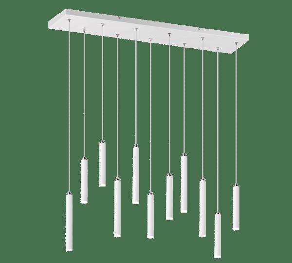 Suspension 11x SMD LED, 2,5W · 11x 220lm, 3000K TUBULAR