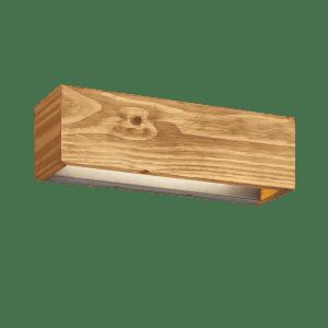 Applique Murale bois SMD LED, 13,5W · 1800lm, 3000K