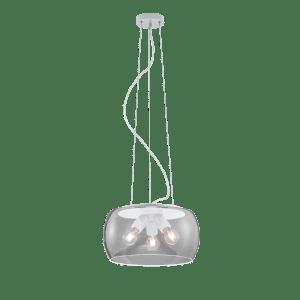 Suspension bulle en verre VALENTE