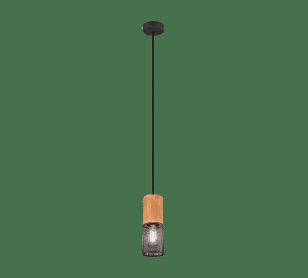 Suspension bois et métal vintage mono TOSH