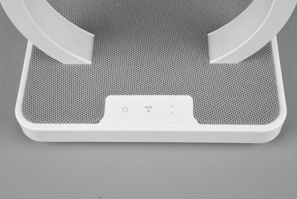 Lampe de table RGBW & enceinte Bluetooth SMD LED, 1W · 1x 20lm, 3000K Noir