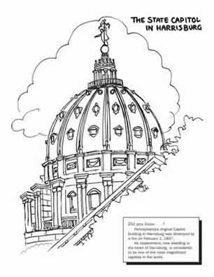 Utah State Capitol Building Coloring Pages Coloring Pages