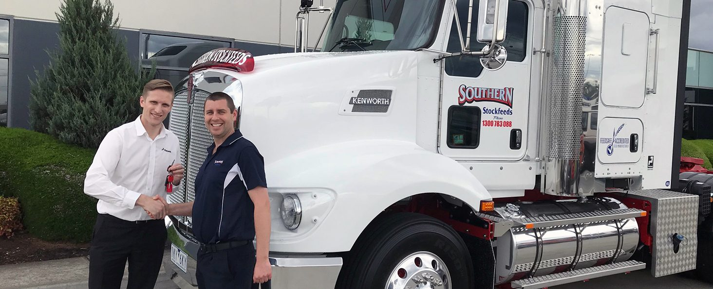 Southern Stockfeeds Has Converted Its Entire Fleet Of Prime Movers Onto A  Full Service Lease Agreement With Paclease. Andrew Mills, Paclease Laverton  Branch