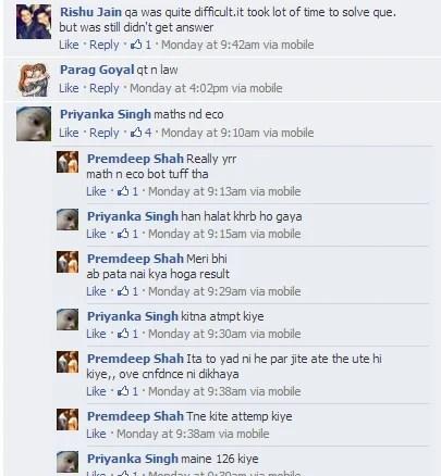 Student Comments - CPT June 2013