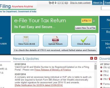 income tax return online