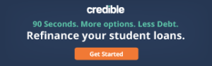 credible.com ad, refinance student loans