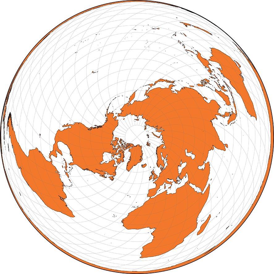 Projection cartographique de Wiechel - Guillaume Sciaux - Cartographe professionnel