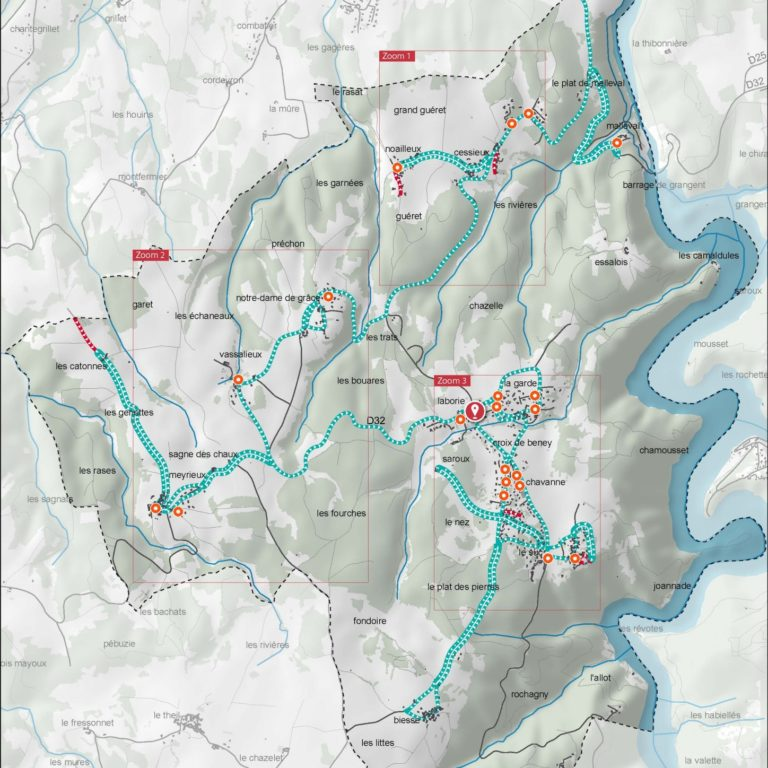 Carte des tournée ramassage ordures ménagères 4 - Guillaume Sciaux - Cartographe professionnel