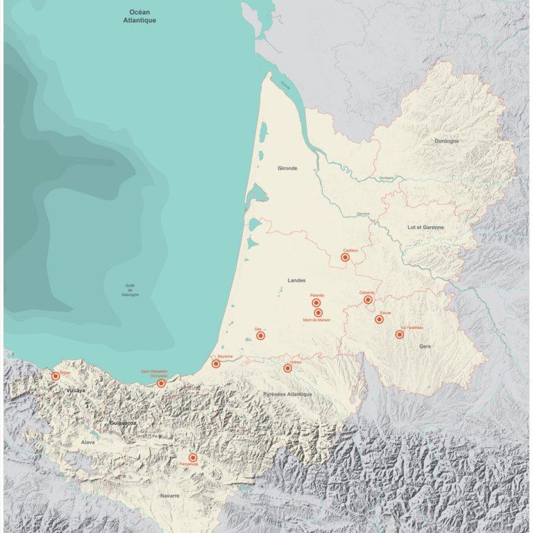 Carte entrez dans l'arêne - Guillaume Sciaux - Cartographe professionnel