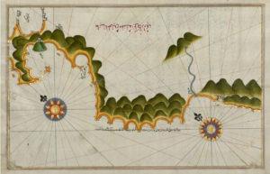 Une ile non identifiée de la cote anatolienne - Guillaume Sciaux - Cartographe professionnel